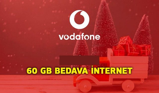 Vodafone 60 GB Bedava İnternet