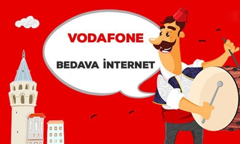 Vodafone 2020 Ramazanda Hediye İnternet Kampanyaları