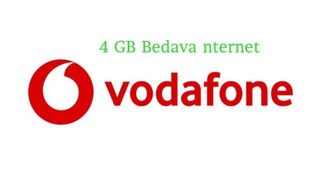 Vodafone Günlük 4 GB İnternet Kampanyası