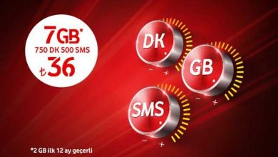 Photo of Vodafone Süper Uyumlu Tarife İle 2 GB Bedava İnternet