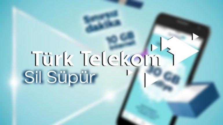 Türk Telekom Sil Süpür İle Bedava İnternet