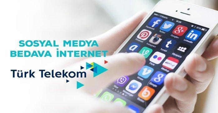 Türk Telekom Sosyal Medya Kampanyası İle 2 GB