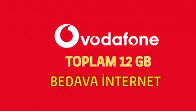 Photo of Vodafone İle 12 GB Bedava İnternet