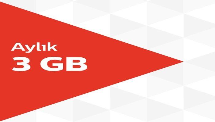 Vodafone İle 30 TL Yükle 3 GB Hediye İnternet Kazan