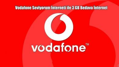 Photo of Vodafone Seviyorum İnterneti Testi İle Hediye İnternet