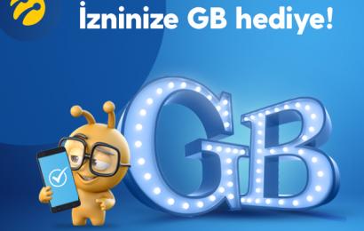 Otomatik Ödeme Talimatına Turkcell Günlük 5 GB Bedava İnternet