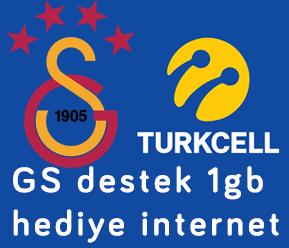 GS Destek 1GB Hediye İnternet Kampanyası