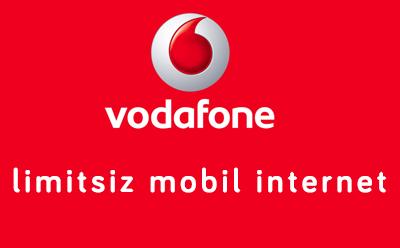 Vodafone Mobil Limitsiz İnternet Tarifesi