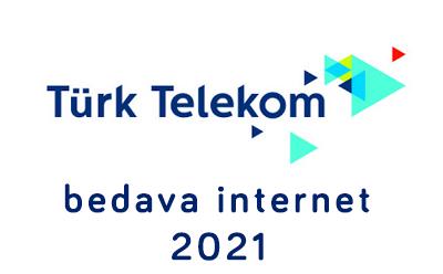 Türk Telekom Bedava İnternet 2021