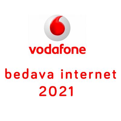 vodafone bedava internet 2021