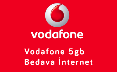 Vodafone 5gb Bedava İnternet