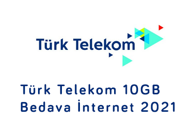 Türk Telekom 10GB Bedava İnternet 2021