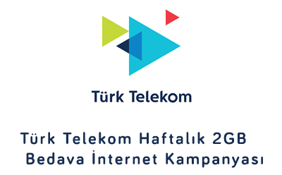 Türk Telekom Haftalık 2 GB Bedava İnternet 2021
