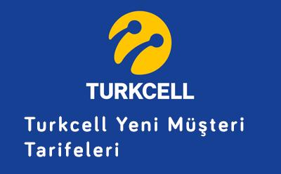 Turkcell Yeni Müşteri Tarifeleri