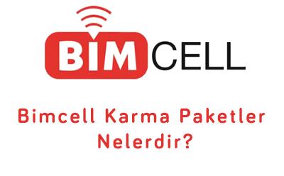 Bimcell Karma Paketler Nelerdir?